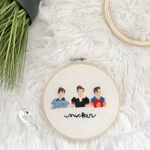 Jonas Brothers cross stitch